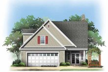 Dream House Plan - Traditional Exterior - Rear Elevation Plan #929-836