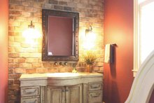 Architectural House Design - European Interior - Bathroom Plan #928-178
