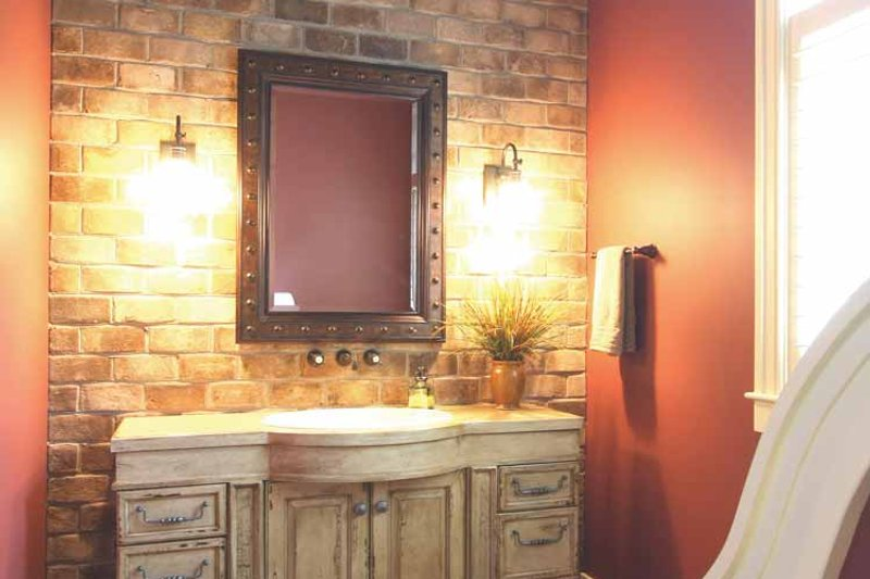 European Interior - Bathroom Plan #928-178 - Houseplans.com