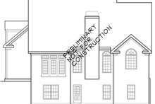 Home Plan - Country Exterior - Rear Elevation Plan #927-626