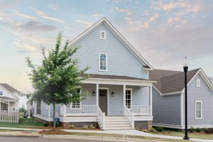 Traditional Exterior - Front Elevation Plan #69-396