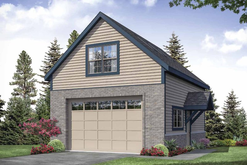 Dream House Plan - Traditional Exterior - Front Elevation Plan #124-1155