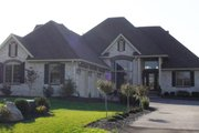 European Style House Plan - 4 Beds 3.5 Baths 2306 Sq/Ft Plan #1064-3 Exterior - Front Elevation