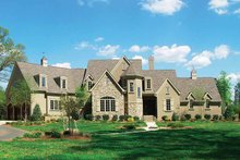 Cottage Exterior - Front Elevation Plan #453-228