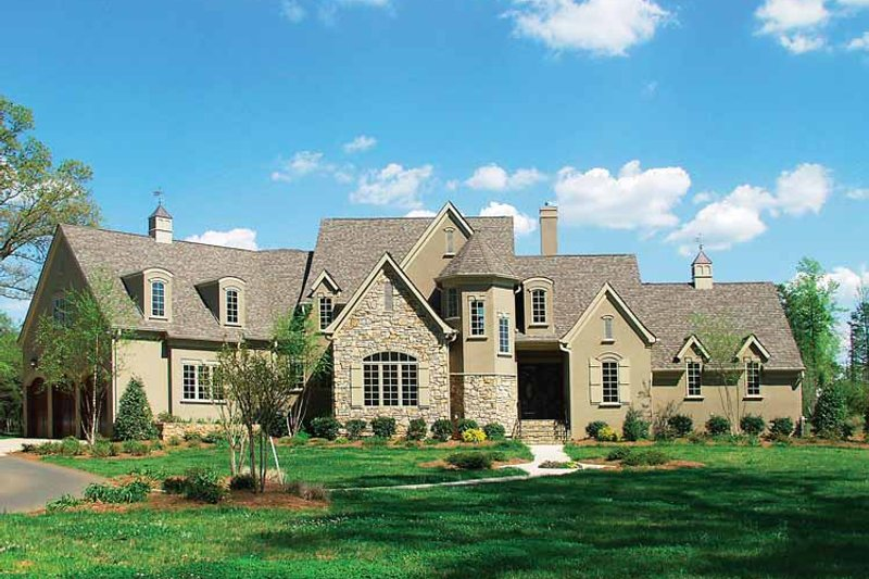Dream House Plan - Cottage Exterior - Front Elevation Plan #453-228