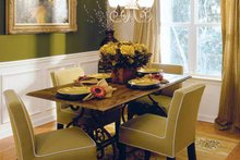Country Interior - Dining Room Plan #927-132