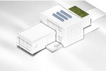 Dream House Plan - Modern Exterior - Other Elevation Plan #497-28