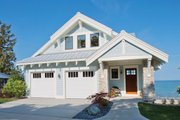 Craftsman Style House Plan - 3 Beds 3.5 Baths 3617 Sq/Ft Plan #928-268 Exterior - Front Elevation