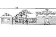 House Plan Design - Ranch Exterior - Front Elevation Plan #117-850