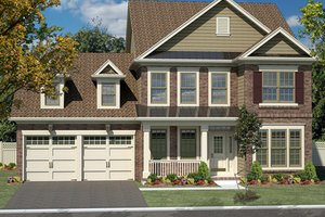 Traditional Exterior - Front Elevation Plan #316-277