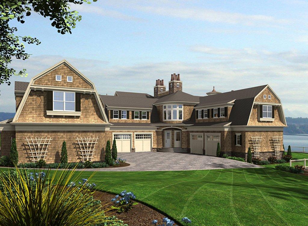 Excellent Craftsman Style House Plan 5 Beds 5 Baths 11000 Sq Ft Plan Download Free Architecture Designs Jebrpmadebymaigaardcom