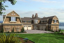 Dream House Plan - Craftsman Exterior - Other Elevation Plan #132-565