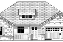 Dream House Plan - Craftsman Exterior - Front Elevation Plan #943-48