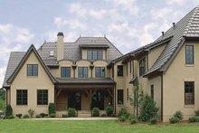 House Plan Design - European Exterior - Rear Elevation Plan #453-214