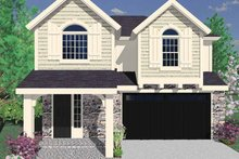 Home Plan - Country Exterior - Front Elevation Plan #509-238