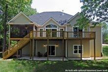 House Design - Craftsman Exterior - Rear Elevation Plan #20-1056