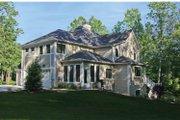 Tudor Style House Plan - 4 Beds 2.5 Baths 3203 Sq/Ft Plan #928-234 Exterior - Rear Elevation