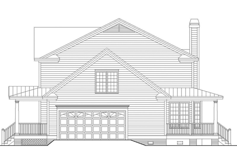 Country Exterior - Other Elevation Plan #929-667 - Houseplans.com