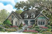 Craftsman Style House Plan - 4 Beds 3 Baths 2695 Sq/Ft Plan #929-777 Exterior - Front Elevation