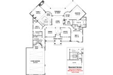 Ranch Floor Plan - Main Floor Plan Plan #119-431