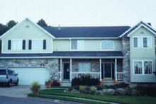 Home Plan - Country Exterior - Front Elevation Plan #945-48