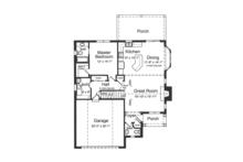 Colonial Floor Plan - Other Floor Plan Plan #46-843