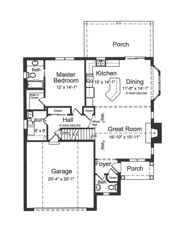 House Plan Design - Colonial Floor Plan - Other Floor Plan #46-843