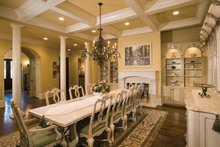 European Interior - Dining Room Plan #453-593