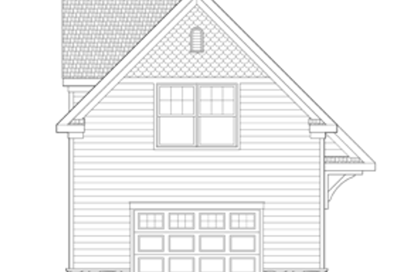 Craftsman Exterior - Front Elevation Plan #1029-65 - Houseplans.com