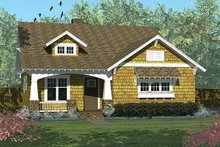 Dream House Plan - Craftsman Exterior - Front Elevation Plan #453-613