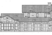 Mediterranean Style House Plan - 3 Beds 3.5 Baths 3633 Sq/Ft Plan #472-4 Exterior - Other Elevation