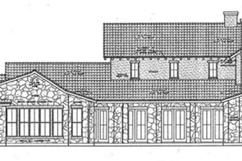 Mediterranean Exterior - Other Elevation Plan #472-4 - Houseplans.com