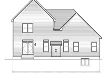 Architectural House Design - Traditional Exterior - Rear Elevation Plan #1010-149