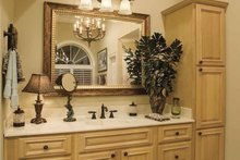 Southern Interior - Master Bathroom Plan #930-123