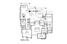 Modern Floor Plan - Main Floor Plan Plan #920-71