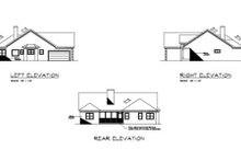 Traditional Exterior - Rear Elevation Plan #56-234