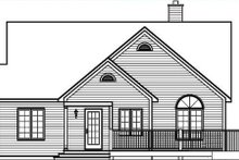 Traditional Exterior - Rear Elevation Plan #23-454