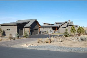 Ranch Exterior - Front Elevation Plan #434-18