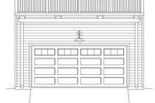 Dream House Plan - Contemporary Exterior - Front Elevation Plan #932-157