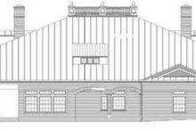 House Plan Design - Classical Exterior - Rear Elevation Plan #119-179