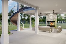 Dream House Plan - Traditional Exterior - Outdoor Living Plan #1060-76