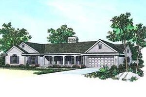 House Design - Traditional Exterior - Front Elevation Plan #72-139