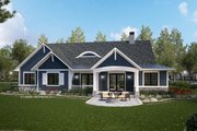 Ranch Style House Plan - 4 Beds 3 Baths 2252 Sq/Ft Plan #928-358