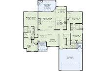 European Floor Plan - Main Floor Plan Plan #17-2488