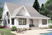 Home Plan - Farmhouse Exterior - Rear Elevation Plan #51-1172