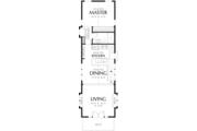 Craftsman Style House Plan - 2 Beds 2 Baths 1203 Sq/Ft Plan #48-569 Floor Plan - Upper Floor