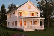 Craftsman Style House Plan - 3 Beds 3 Baths 2206 Sq/Ft Plan #888-10 Exterior - Front Elevation