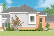 House Blueprint - Traditional Exterior - Other Elevation Plan #72-1094