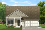 Country Style House Plan - 3 Beds 2 Baths 1800 Sq/Ft Plan #1058-135 Exterior - Front Elevation