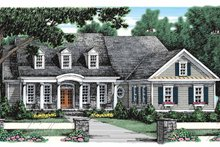 Home Plan - Classical Exterior - Front Elevation Plan #927-910